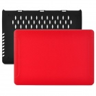 "BTA Protective PC Case for Apple MacBook Pro Retina 15.4"" - Red + Black"
