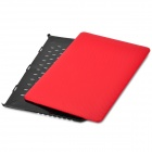 "Case BTA de protection PC pour ""15-inch MacBook Pro avec Retina Display"" - rouge + noir"
