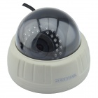 SENKAMA V-627W 1.0 MP Night Vision Wireless Wi-Fi IP Camera w/ IR-CUT / 30 IR-LED - Black + White