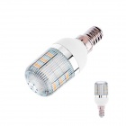 E14 3W 160lm 3000K 48 x SMD 3528 LED Warm White Light Corn Lamp Bulb - (AC 220~240V)