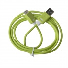 KS-318 High Speed Data Transmission / Charging Cable for Samsung Galaxy Note 3  - Green + White