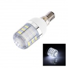 E14 3W 160lm 6500K 48 x SMD 3528 LED Cool White Light Corn Lamp Bulb - (AC 220~240V)