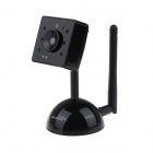"DZY C003 0.3 MP 1/1.6"" CMOS 2.4G Wireless Camera Monitor - Black"