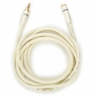 0564B 3.5mm Audio/Video Male to Female Connection Cable - White (180cm)