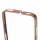 S-What Protective Aluminum Alloy Bumper Frame Case for IPHONE 4 / 4S - Champagne