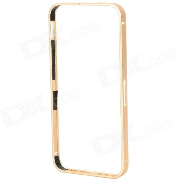 S-What Protective Aluminum Alloy Bumper Frame Case for IPHONE 5 / 5S - Golden protective aluminum alloy bumper frame case for iphone 5 rose gold