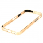 S-What Protective Aluminum Alloy Bumper Frame Case for IPHONE 5 / 5S - Golden