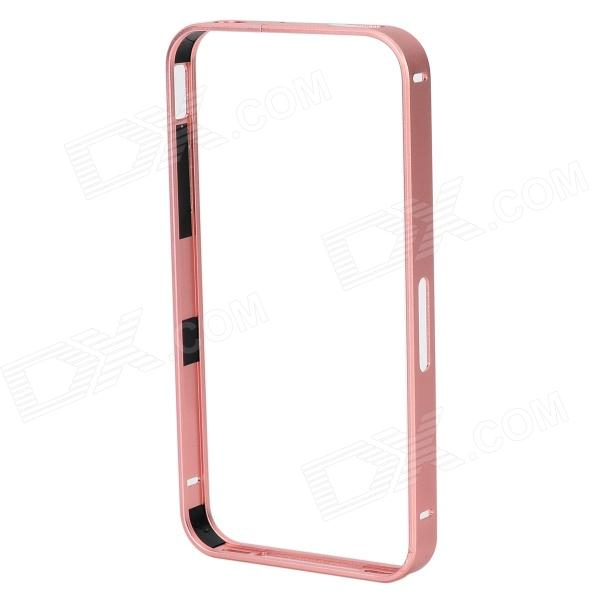 S-What Protective Aluminum Alloy Bumper Frame Case for IPHONE 4 / 4S - Light Purple s what ultrathin protective aluminum alloy bumper frame for iphone 4 4s black