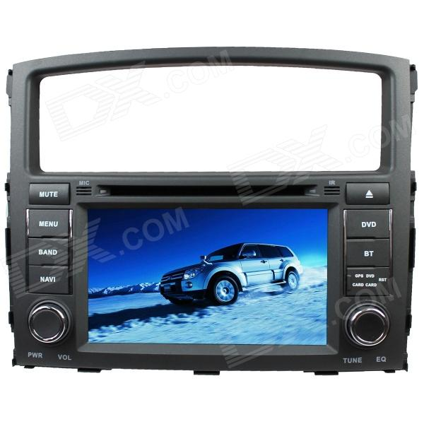 LsqSTAR 7Car DVD Player w/ GPS,Radio,AUX,SWC,6CDC,TV,Canbus,Dual Zone for Mitsubishi Pajero/Montero