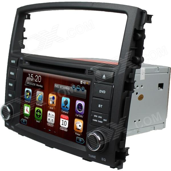 "LsqSTAR 7""Car DVD Player w/ GPS,Radio,AUX,SWC,6CDC,TV,Canbus,Dual Zone for Mitsubishi Pajero ..."