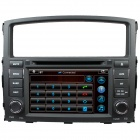 "LsqSTAR 7"" bil DVD spiller med GPS, Radio, AUX, SWC, 6CDC, TV, Canbus, Dual sone for Mitsubishi Pajero/Montero"