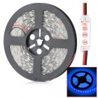 HML Waterproof 72W 6300lm 300 x SMD 5050 LED Blue Light Strip w/ Mini Controller - (5V / 12V)
