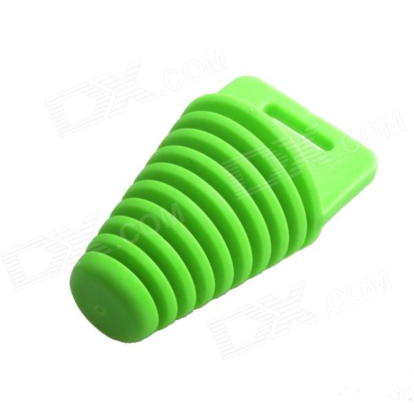 HH-161 Motorcycle Washing Muffler Protection Waterproof Plug - Green