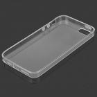 Protective Ultra-Slim TPU Back Case for IPHONE 5 / 5S - Transparent