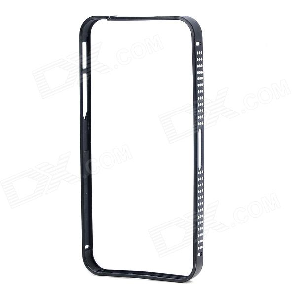 Protective Aluminum Alloy Bumper Frame Case for IPHONE 5 / 5S - Black