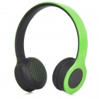 SHIKE XBT-700 Fashion Bluetooth v2.0 Headphones Headset w/ Microphone - Green