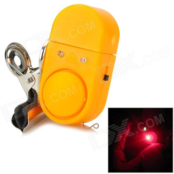 Saince 23123 Sea Pole Electronic Alarm Device w/ Delay LED Dual-Flash - Yellow + Silver
