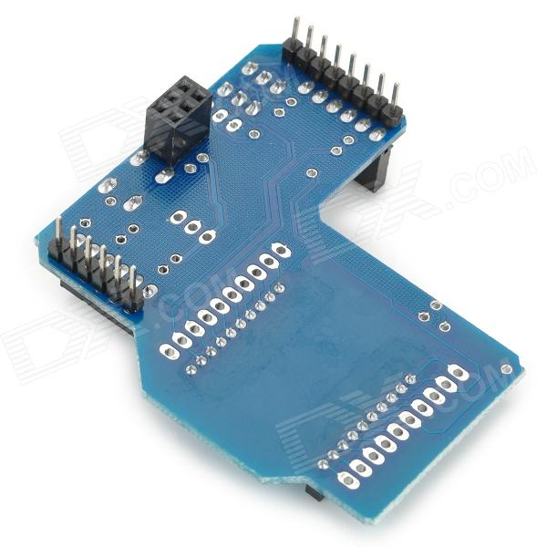 Wireless transmission expansion board for arduino xbee