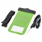 Universal Water Resistant Bag for Samsung Galaxy S4 - Green