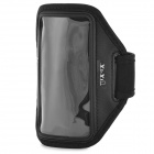 YI-YI Sports Gym PVC + Nylon Armband Case for Samsung Galaxy S5 i9600 - Black
