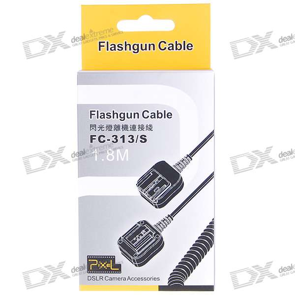 FC-313/S Compatible Dedicated Off-Camera Shoe Cord for Sony (1.8M-Cable)