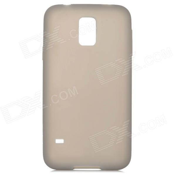 S-What Protective Silicone Back Case for Samsung Galaxy S5 - Grey