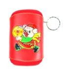 Cute Mini Red Piggy Wallet Keychain