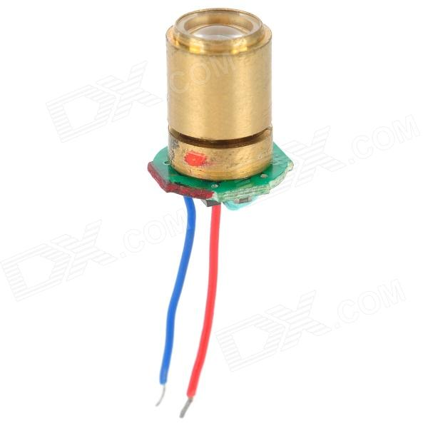 3V Industrial Laser Head - Golden laser module industrial laser head red laser spot heat dissipation can work for a long time