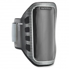 Sunshine Sports Gym Neoprene Armband Case for Moto G DVX - Black + Silver