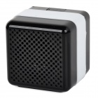 Q3 Portable Wireless Bluetooth V2.1 Car Speaker w/ Microphone / Micro USB - Black + White