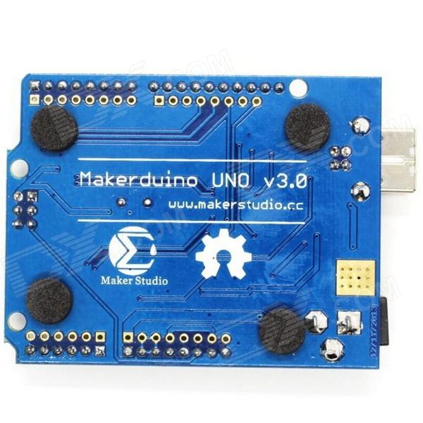 купить Maker Studio Makerduino V3.0 Development Board (Arduino UNO Compatible) - Deep Blue недорого