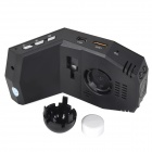 "Car 2.0"" TFT 3/4"" CMOS 1.3MP Wide Angle Perfume DVR w/ WDR Function - Black"