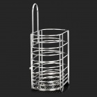 CHELLY P280024 Convenient 304 Stainless Steel Chopstick / Spoon / Fork Holder w/ Suction Cup