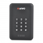 "Maiwo  K2533 2.5"" SATA USB 3.0 Encryption Keys Portable Disk Cartridge - Black"