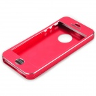 Protective Aluminum Alloy Full Body Case for IPHONE 5 / 5S - Red