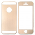 Protective Aluminum Alloy Full Body Case for IPHONE 5 / 5S - Golden