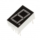 5161AS 1.9 Inch 1bit Common Anode Red LED Digital 7-Segment Display - Black + White (5 PCS)
