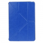 Stylish Crazy Horse Pattern Protective PU Leather Case Cover Stand w/ Auto Sleep for IPAD MINI 1 / 2