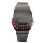 Fashion Zinc Alloy Digital Wrist Watch for Men - Black (1 x CR2023)