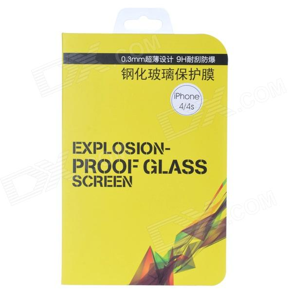 Toughened Glass Screen Protector for IPHONE 4 / 4S - Transparent