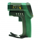MASTECH MS6550B Non-Contact Infrared Thermometer - Black + Green (D:S= 50:1 / USB / 1 x 6F22)
