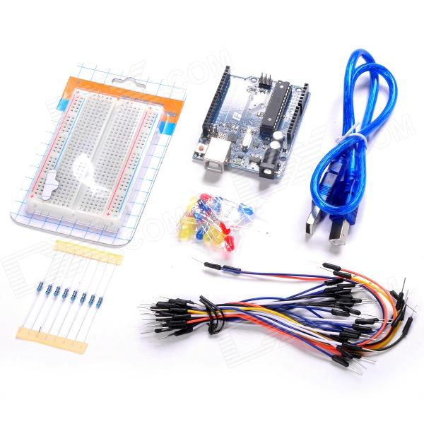 Funduino Basic kit-01 UNO R3 Development Board Kit - Multicolored