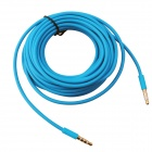 H5AQ 3.5mm Male to Male Aux Audio Cable - Blue (500cm)