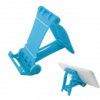 "Universal Foldable Plastic Stand Holder for 4~10"" Tablet PC - Blue"