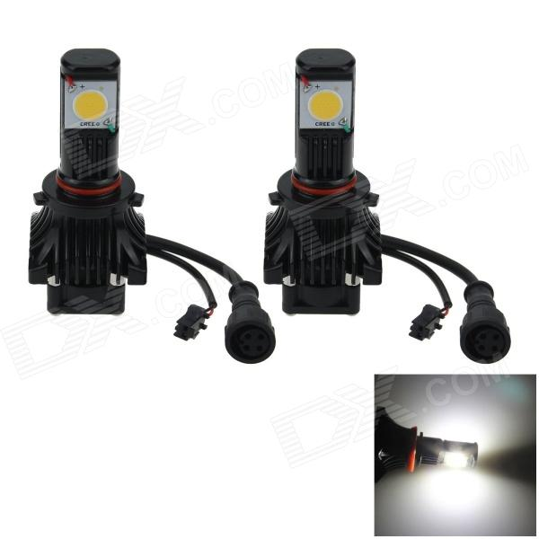 9005 / HB3 50W 1800lm Ultra White LED Car Foglight / Headlamp / Tail Light (12~24V / 2 PCS) h1 4w 220lm 68 smd 1210 led warm white light car foglight headlamp tail light 12v