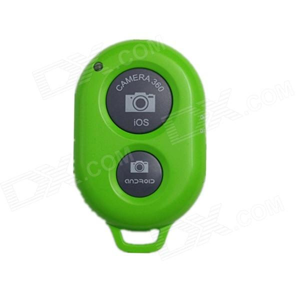 Bluetooth V3.0 Remote Control Self Timer Camera Shutter for iOS / Android Phone - Green (1 x CR2032)