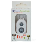 RC BT V3.0 Self Timer Camera Shutter for IOS / Android Phone - White
