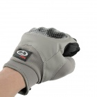 OUMILY Outdoor Tactical Full-finger Gloves - Gray (Size L / Pair)