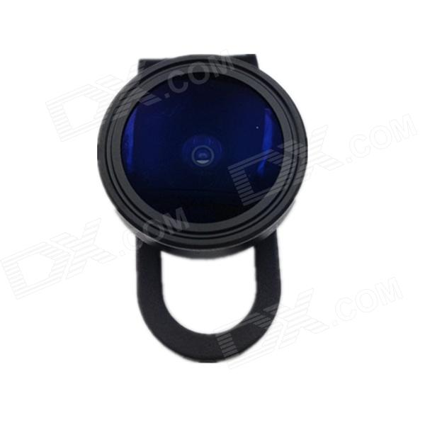 Universal Clip 180 Degree Fisheye Lens / 360 Degree Panoramic Lens for IPHONE / IPAD - Black