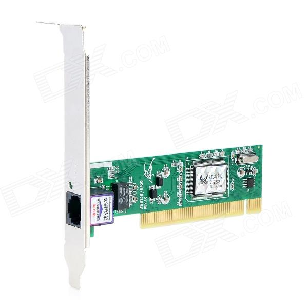 PCI & PCIE Network Adapter Card - Green